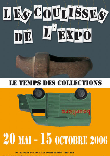Affiche coulisses de l expo